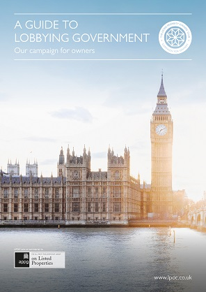 Our guide to lobbying government front cover